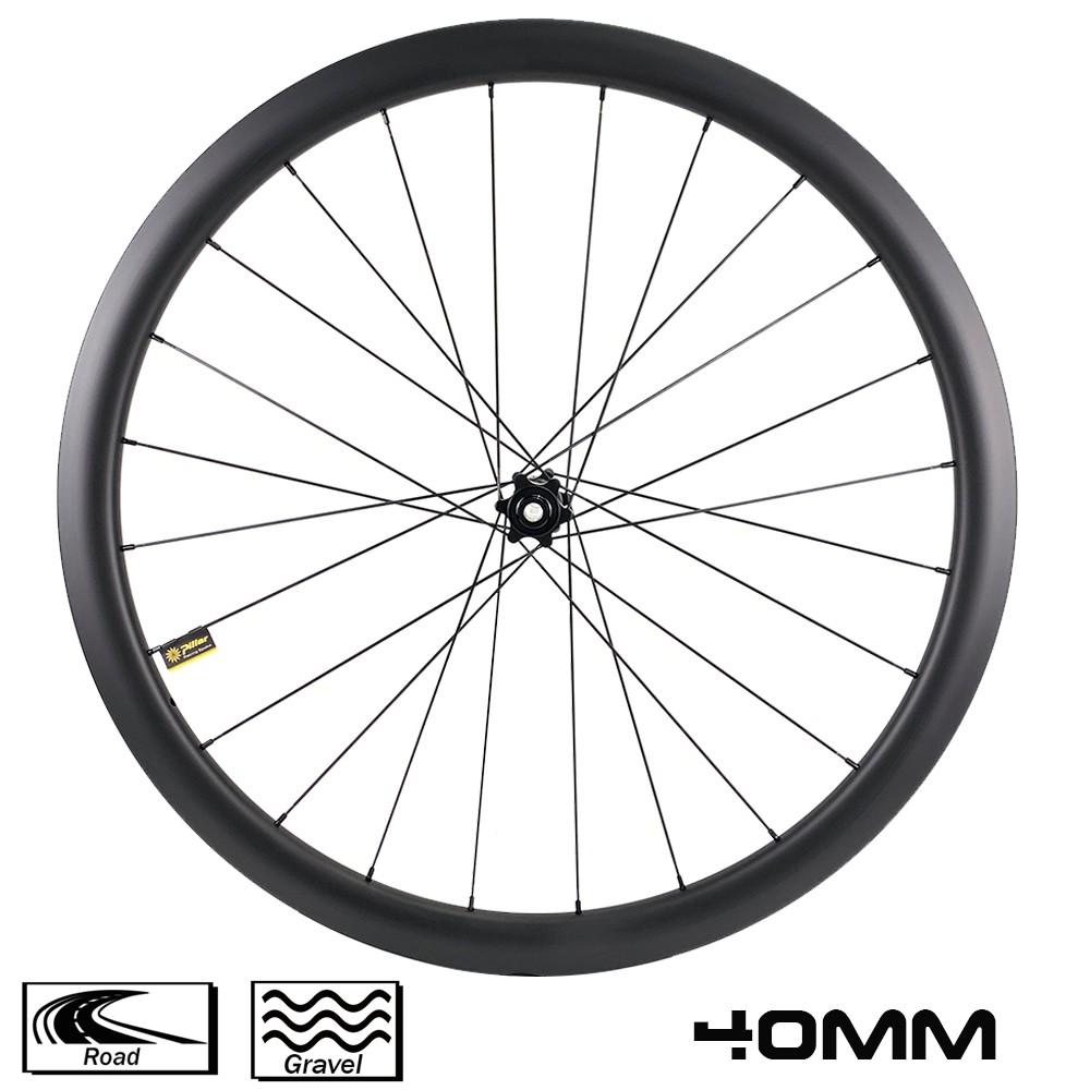 yuan an 700c road bike disc brake 40mm rim depth 29mm width wheelset