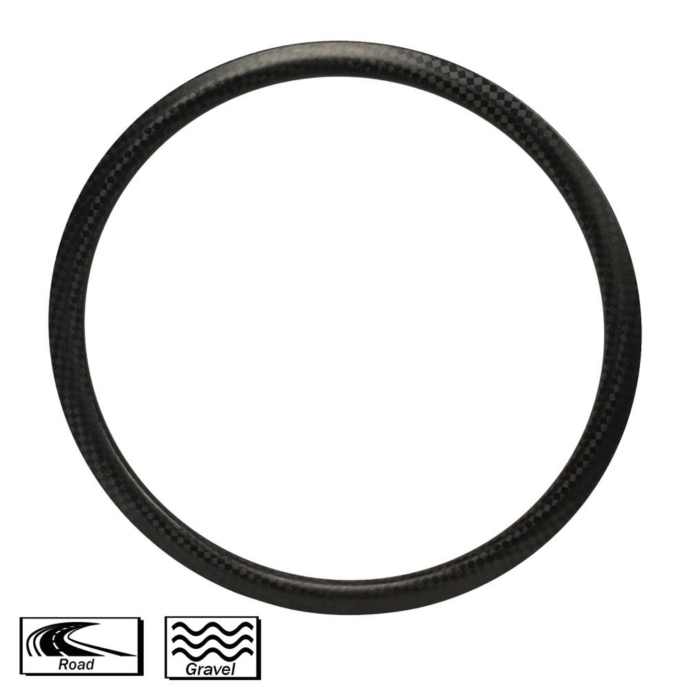 Carbon Fiber Cycle Rims 38mm Depth 25mm width Road Rims disc brake