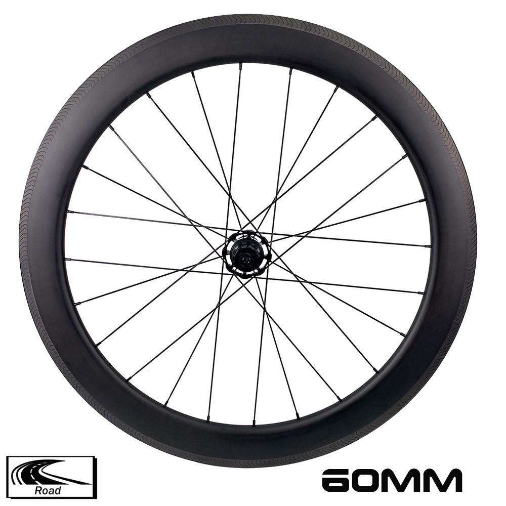 YAR60-02 RA18 Triathlon wheelset 60mm depth 28mm width Ceramic Bearing Hub Cycle Carbon Wheels