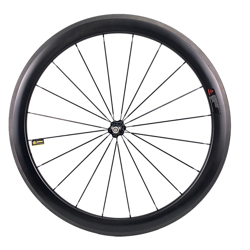 Carbon Wheelset Tubeless Ready Compatible 50mm depth 25mm width