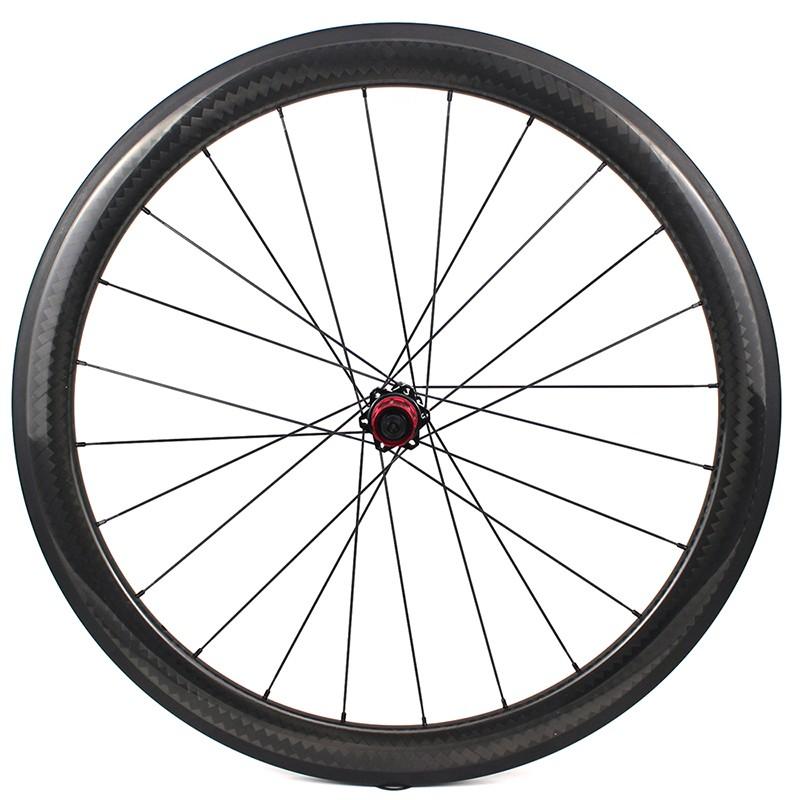 YAR50-02 Cycling Wheelset 50mm Depth 27mm width Aero Carbon Wheelet