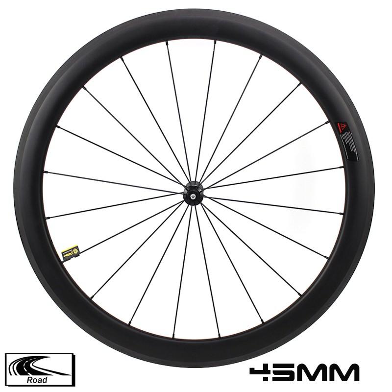 YAR45-01 Комплект колес для шоссейных велосипедов 45 мм Глубина 28 мм Ширина Карбоновые колеса