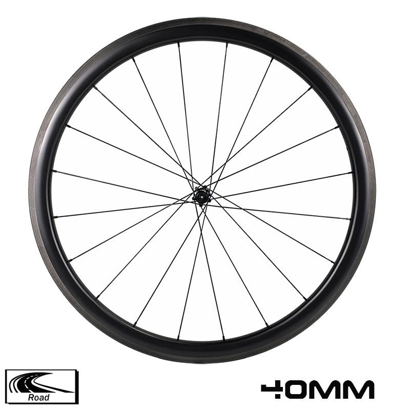 Шоссейный велосипед 700c, обод глубиной 40 мм, ширина 29 мм, ступица BITEX 305 sapim cx ray, сверхлегкая колесная пара