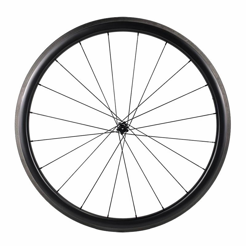 700c Road Bike 40mm Depth Rim 29mm width BITEX 305 hub sapim cx ray spoke ultralight wheelset
