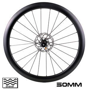 700C bici gravel wheeslet 50mm profondità 19,5mm larghezza interna ciclocross