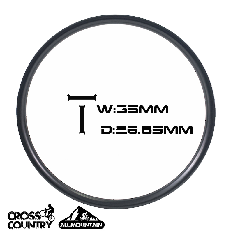 650B Bike Rims all mountain Mtb Rim 35mm Width 27mm Depth