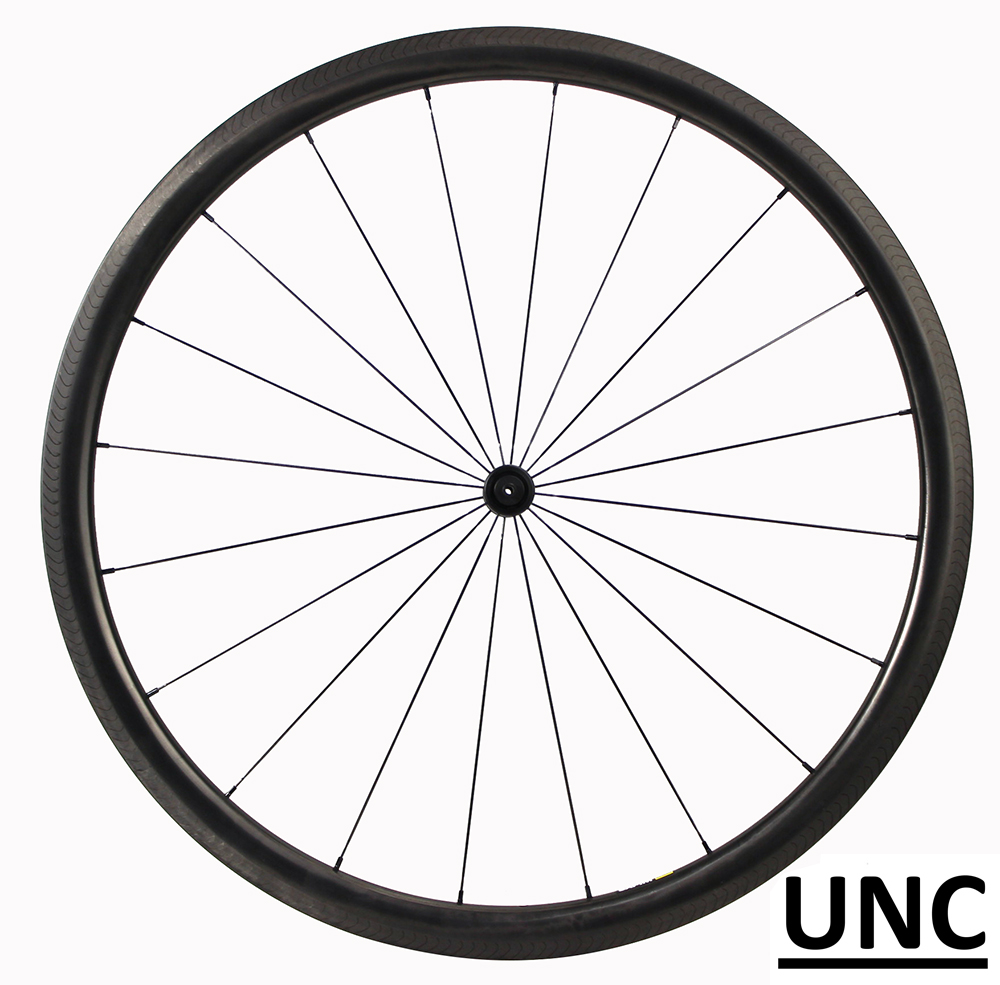 2021 UNC 700c カーボンリム 35mm リムブレーキ オリジナル ナチュラルカーボン表面 超軽量