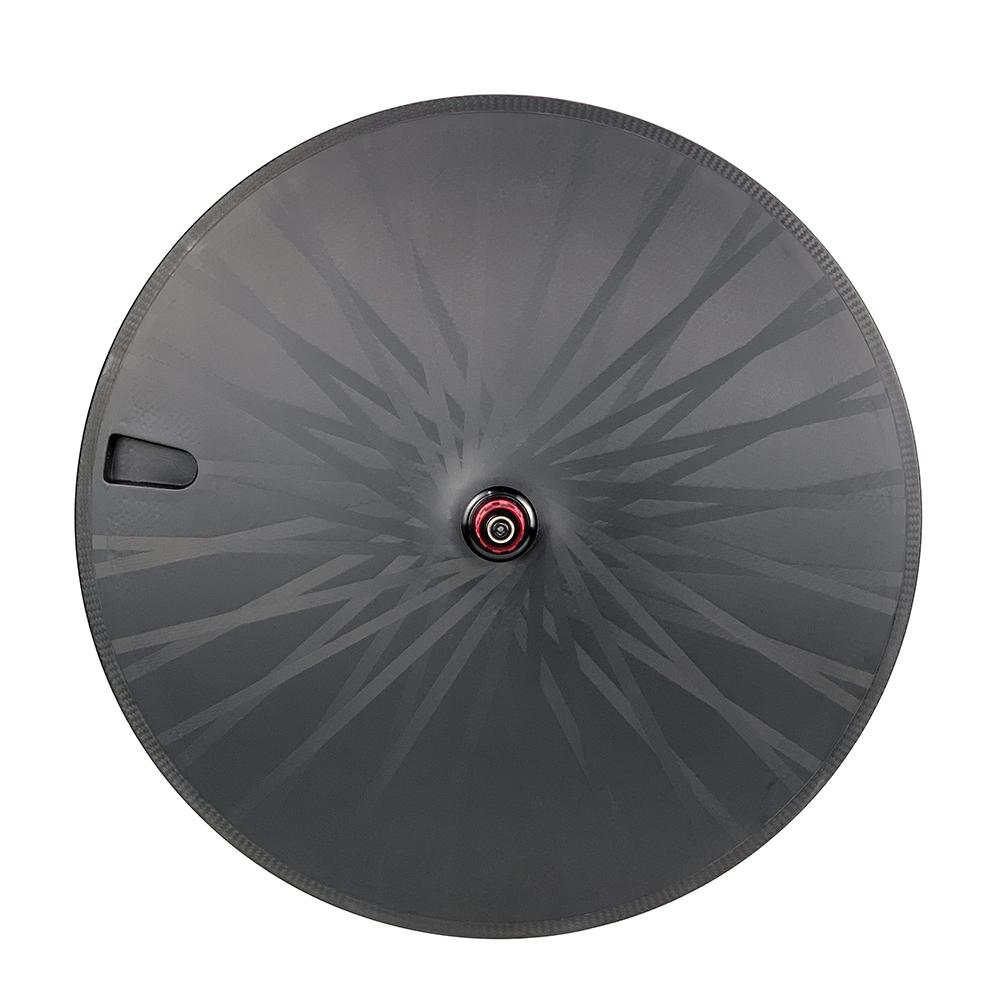 700c Triathlon wheelset tubeless compatible aerodynamics rim brake