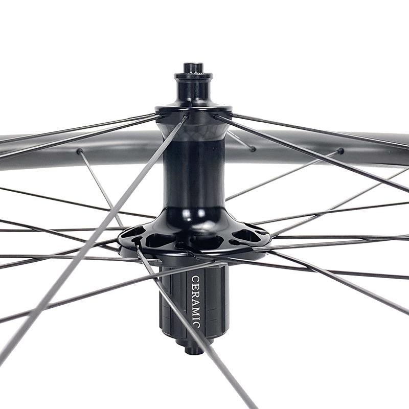 BWT road rim brake wheelset 45mm rim depth 29mm width tubeless