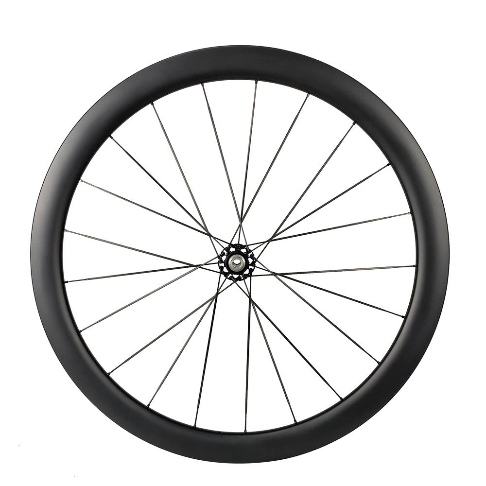 Carbon spoke PE DISC 45 Ultralight wheelset ceramic bearing 1280g only