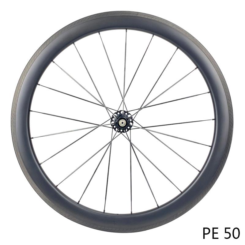 700C carbono raio wheeselt aro freio rodado para bicicleta de estrada com rolamento de cerâmica