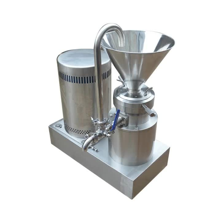 High quality almond/peanut/sesame colloid mill/chilli/pepper colloid grinder machine