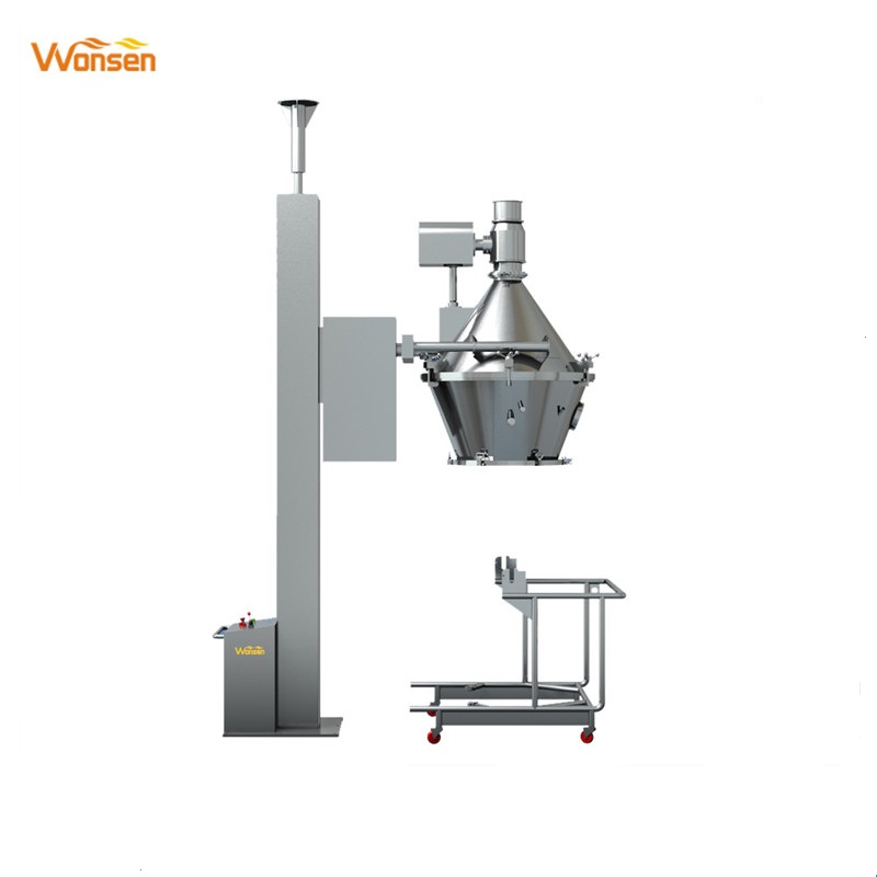 CE Approved Pharma lifter finished granulator for FBD &FBG bowl