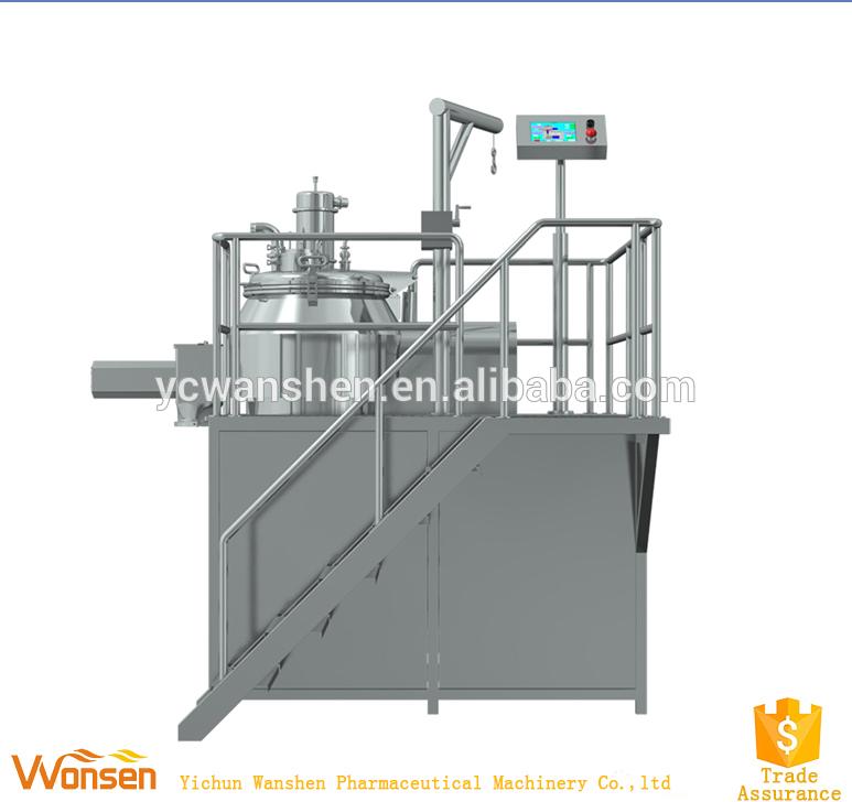 Rapid granules pharmaceutical wet mixer and granulator