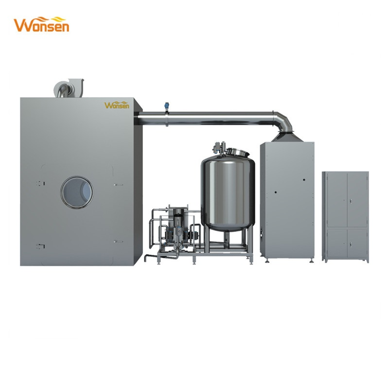 FDA and GMP approved Pharmaceutical Automatic bin cleaning machine