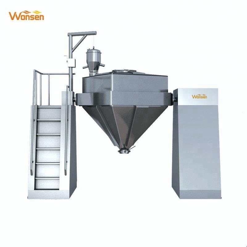 Aprovado pela CE Misturador de escaninho rápido de alta qualidade com cone quadrado