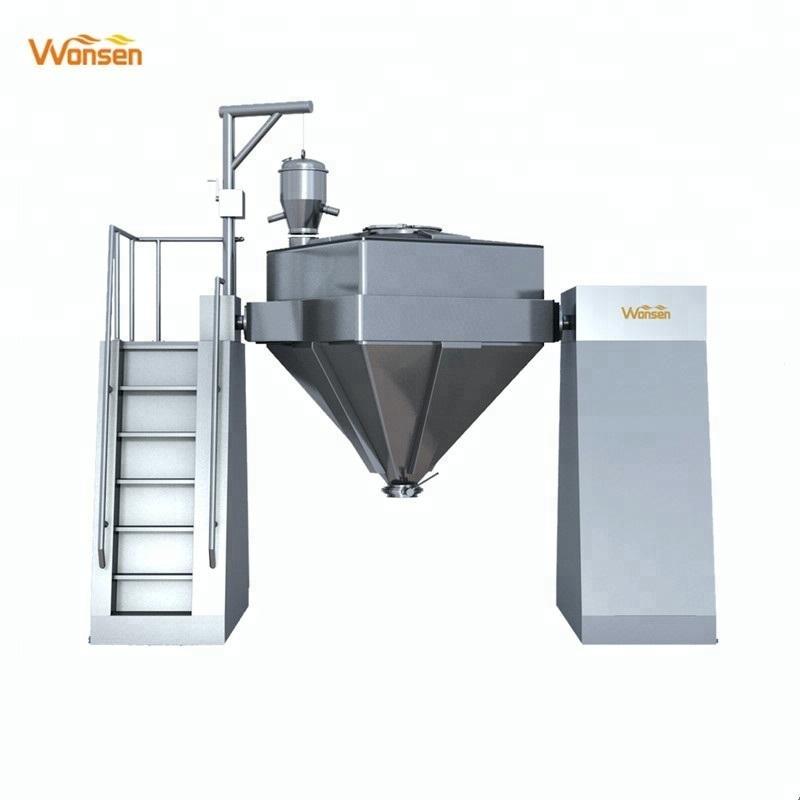 Farmacêutica de alta qualidade usada máquina de mistura de pó