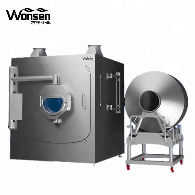 Chocolate panning /polishing machine and almond chocolate coating machine
