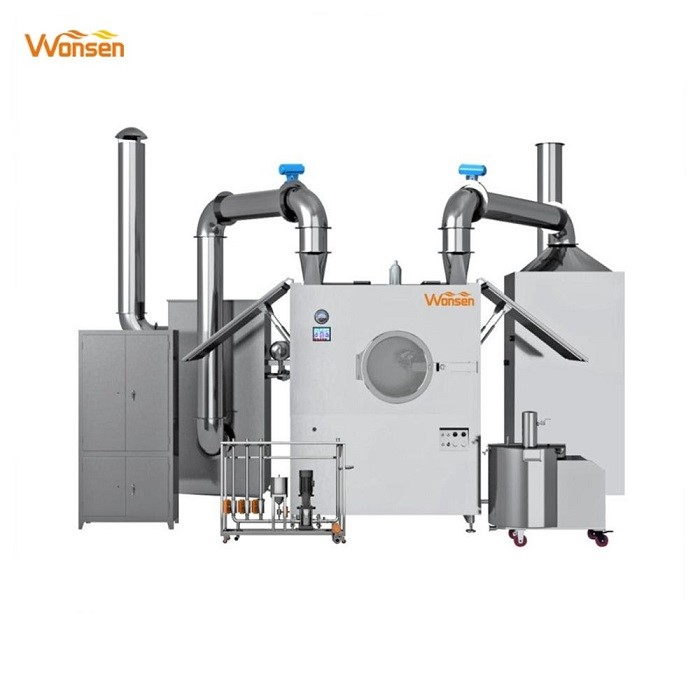 CE approved BGB-150 high quality chocolate coating machine