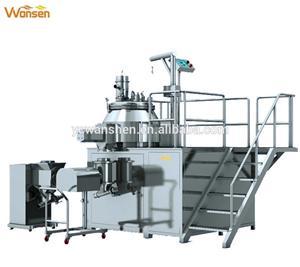 فیکٹری قیمت دواسازی کی مشینری ہائی پلیٹ فارم مکسنگ گرانولیٹر (SHLG سیریز)
