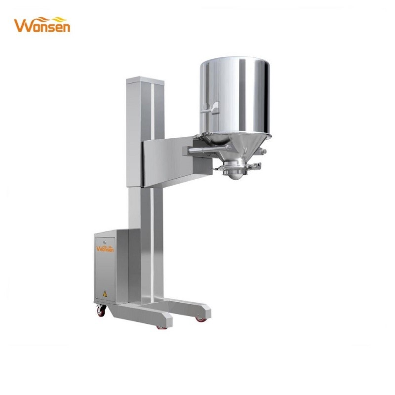 New type Pharma moveable lifter telescopic hydraulic machine