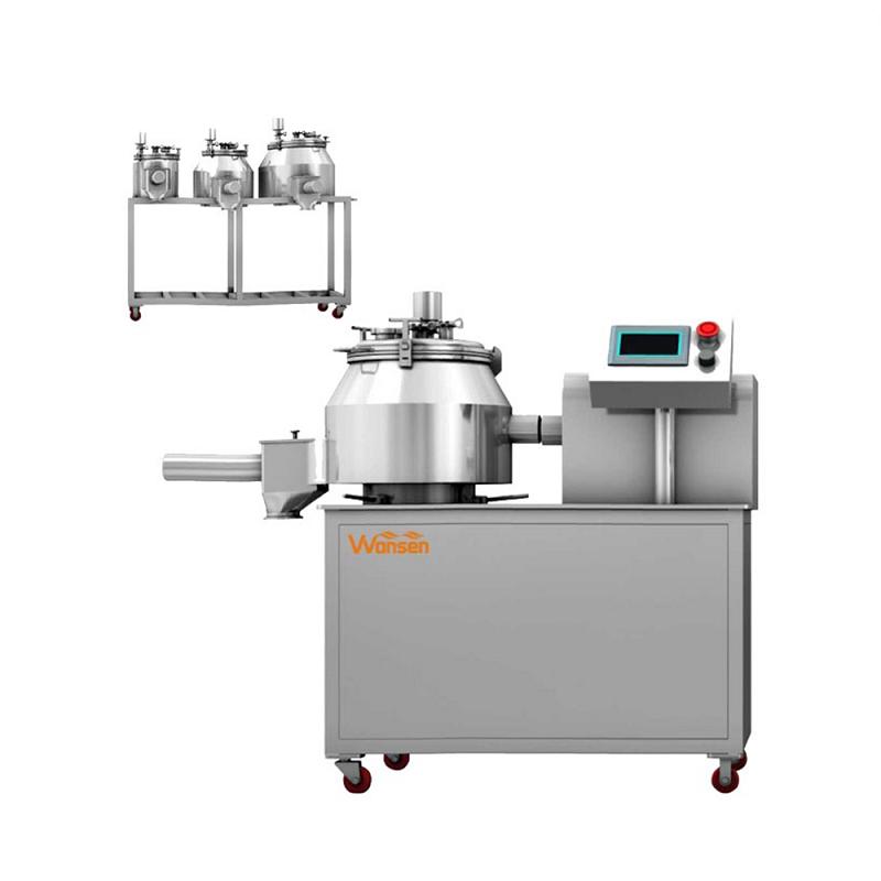 High speed Pharmaceutical lab high shear mixer granulator(SHLS Series)