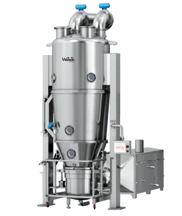 ماشین آلات دارویی نوع جدید GMP خشک کن بستر مایع تایید شده (FG)