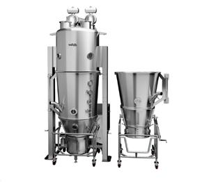 Multifunctional fluid bed dryer/granulator/coating (DPL)