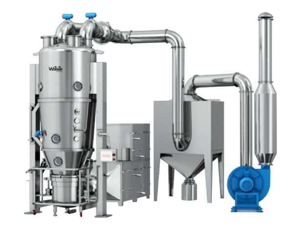 New type Chemical fluid bed dryers and granulator of factory price (FL Series)