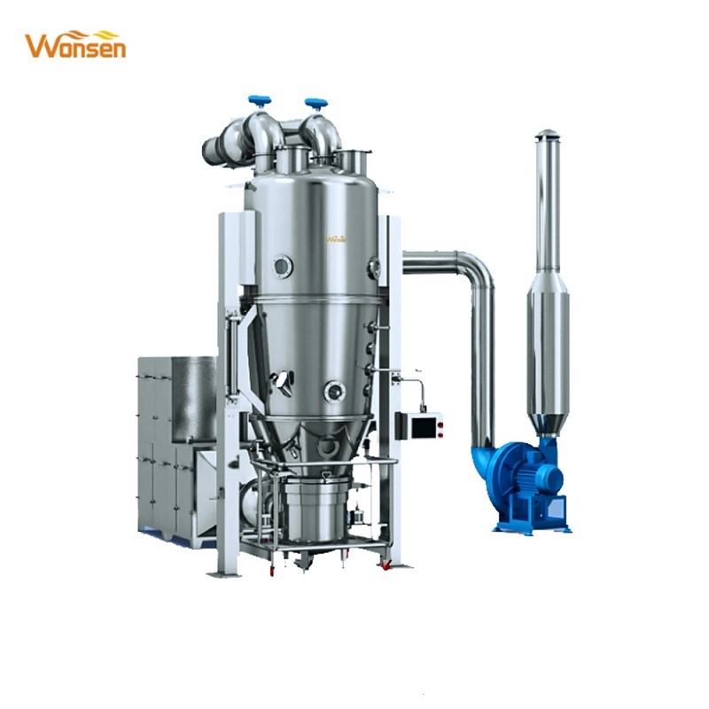 Pharmaceutical used fluid bed dryers and granulator(FL Series)