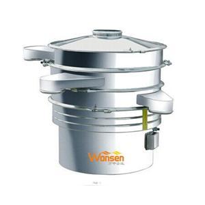 Peneira vibratória elétrica industrial / máquina de peneira