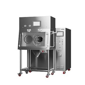 Contaiment coating machine suitable for OEB 4
