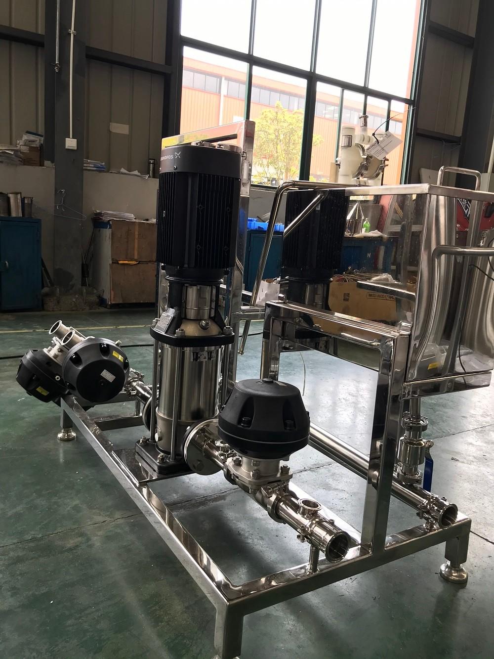 Передвижная моечная установка для фармацевтических контейнеров IBC