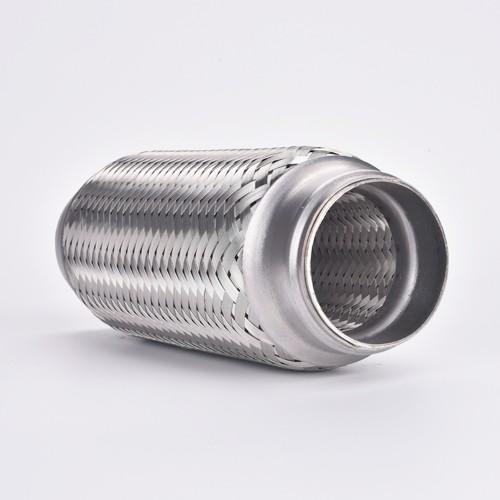 Acheter Connectez le tuyau d'échappement de tuyau flexible de silencieux en acier inoxydable de 2,25