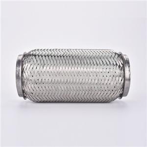 Tuyau flexible d'échappement en acier inoxydable avec doublure de verrouillage