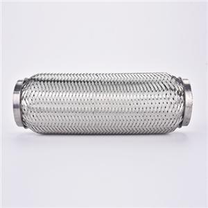 Tuyau d'échappement flexible en acier inoxydable de 2 pouces