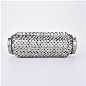 नालीदार स्टेनलेस स्टील ट्यूब निकास पाइप / इंजन मायने रखता है