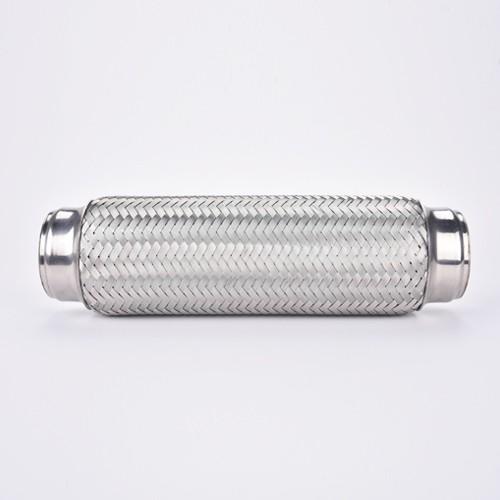 Sambungkan Exhaust Flex Pipe Stainless Steel Double Braid 1.75