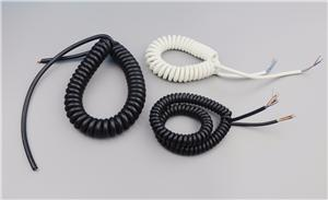 Customized PU PVC spiral cables