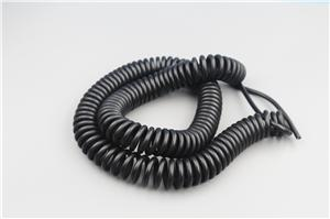 RG45 Network Connector With Black Coiled Cable Manufacturers, RG45 Network Connector With Black Coiled Cable Factory, Supply RG45 Network Connector With Black Coiled Cable