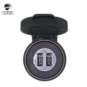 5V 2.1A Corlorful LED light Dual Port Nylon USB Car Charger with Waterproof Cap Manufacturers, 5V 2.1A Corlorful LED light Dual Port Nylon USB Car Charger with Waterproof Cap Factory, Supply 5V 2.1A Corlorful LED light Dual Port Nylon USB Car Charger with Waterproof Cap