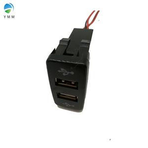 YMM 12/24V ABS 5V 2.1A output Overload protection dual USB Car charger for RV boat bus truck,etc. Manufacturers, YMM 12/24V ABS 5V 2.1A output Overload protection dual USB Car charger for RV boat bus truck,etc. Factory, Supply YMM 12/24V ABS 5V 2.1A output Overload protection dual USB Car charger for RV boat bus truck,etc.