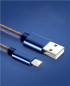 Jeans Micro Usb Data Charger Cable for Android Phone
