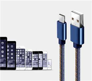 Jeans Micro Usb Data Charger Cable for Android Phone Manufacturers, Jeans Micro Usb Data Charger Cable for Android Phone Factory, Supply Jeans Micro Usb Data Charger Cable for Android Phone