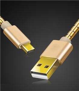 Fast Charging Micro Android Metal Usb Cable