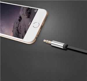 Golden Male to Male AUX Car Audio Flat USB Cable Manufacturers, Golden Male to Male AUX Car Audio Flat USB Cable Factory, Supply Golden Male to Male AUX Car Audio Flat USB Cable