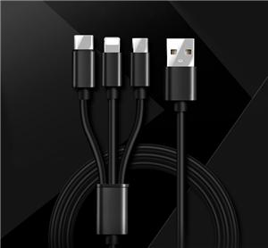 Universal 3 in 1 Charging Data Multi Usb Cable