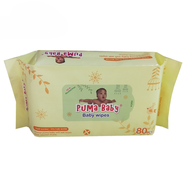Khăn ướt dành cho người lớn dành cho trẻ em Khăn ướt bông và không gây dị ứng Không mùi