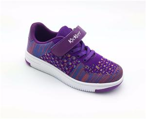 Kids Breathable shoes Spring children Casual boys and girls Lace-up Flyknit Fashion shoes