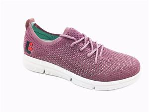 Women Casual Shoes Fashion Lightweight Lace-up Breathable Flyknit Shoes for Women
